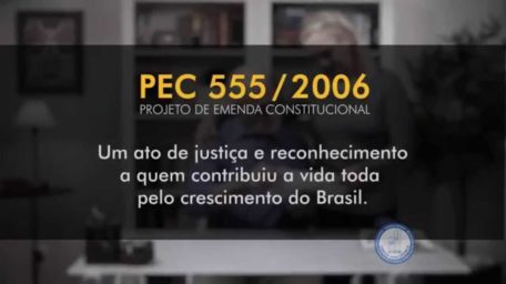 Campanha pela PEC 555