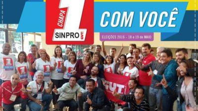 Sindical parabeniza a vitória incontestável da Chapa 1 nas eleições do Sinpro-DF
