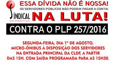 Mobilização contra o PLP 257/2016