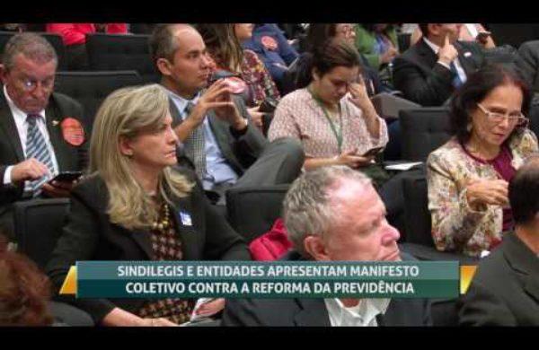 Movimento apresenta manifesto coletivo contra a Reforma da Previdência