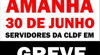 Amanhã é dia de greve geral!