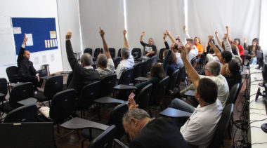 SERVIDORES DA CLDF EM  GREVE NO DIA 30 DE JUNHO