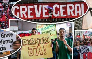 Centrais aprovam greve geral para 30 de junho