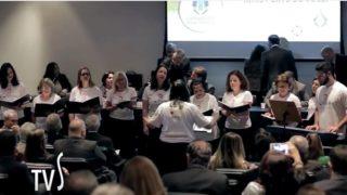 Coral Allegro se apresenta no Câmara em Movimento