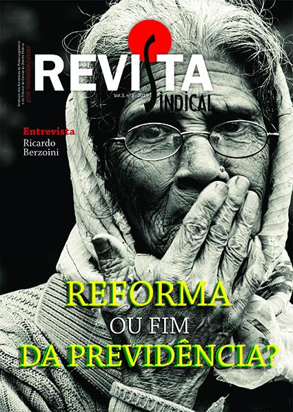 capa REVISTA SINDICAL - EDIÇÃO ONLINE
