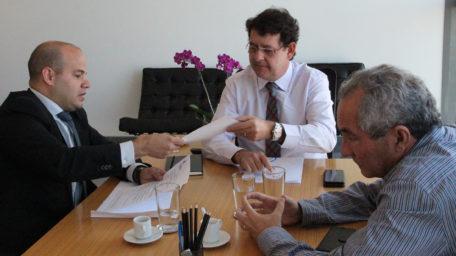 Sindical se reúne com o secretário geral da CLDF