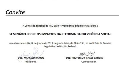 Seminário PEC 6/2019 – Os Impactos da Reforma da Previdência Social