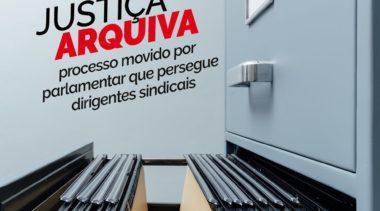Justiça arquiva processo contra dirigentes do Sindical