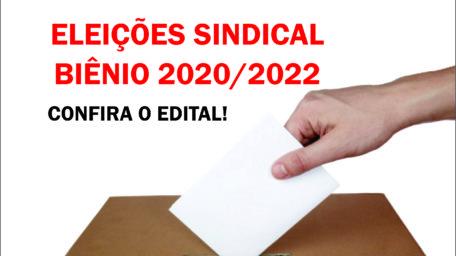 PUBLICADO O EDITAL DAS ELEIÇÕES