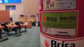 Extintores da Câmara Legislativa estão vencidos desde dezembro