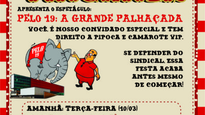 TODOS CONTRA A PELO 19/2019