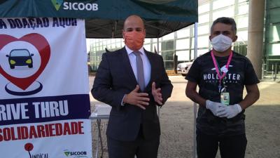 """Sindical lança campanha """"Drive Thru da Solidariedade"""""""