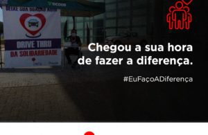 """CLDF recebe """"Drive Thru da Solidariedade"""" para arrecadação de donativos"""