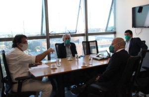 Sindical se reúne com o secretário-geral da CLDF para tratar sobre Fascal