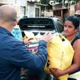 Servidores da CLDF auxiliam famílias atingidas por incêndio na Estrutural
